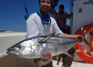 Dan and his long tail or northern bluefin tuna