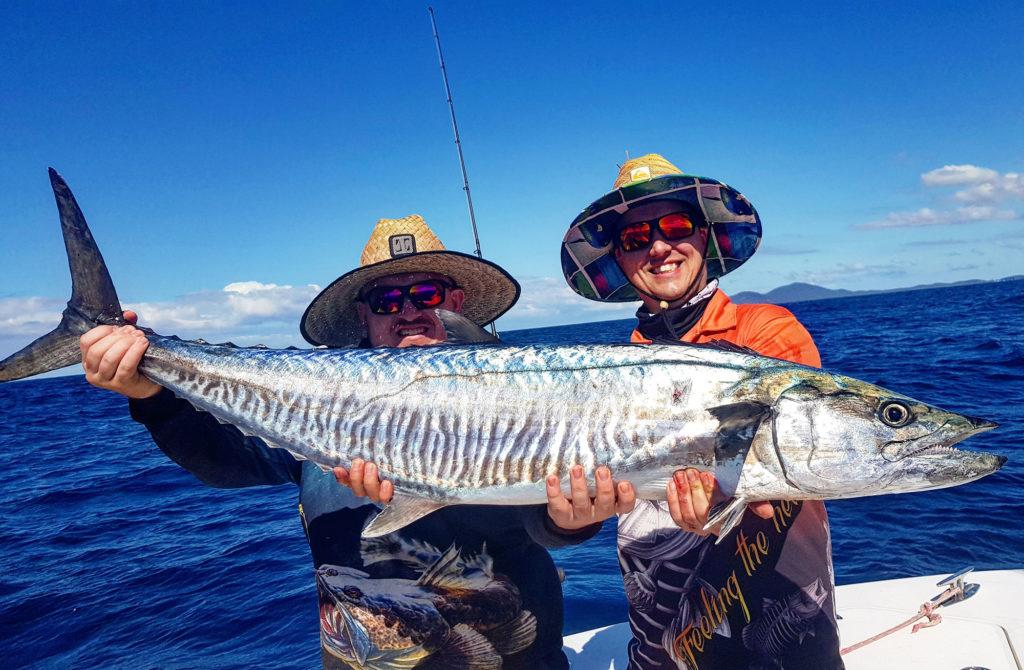 Lovely spanish mackerel