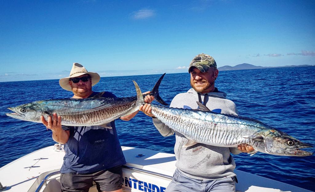 Some nice narrow barred spanish mackerel