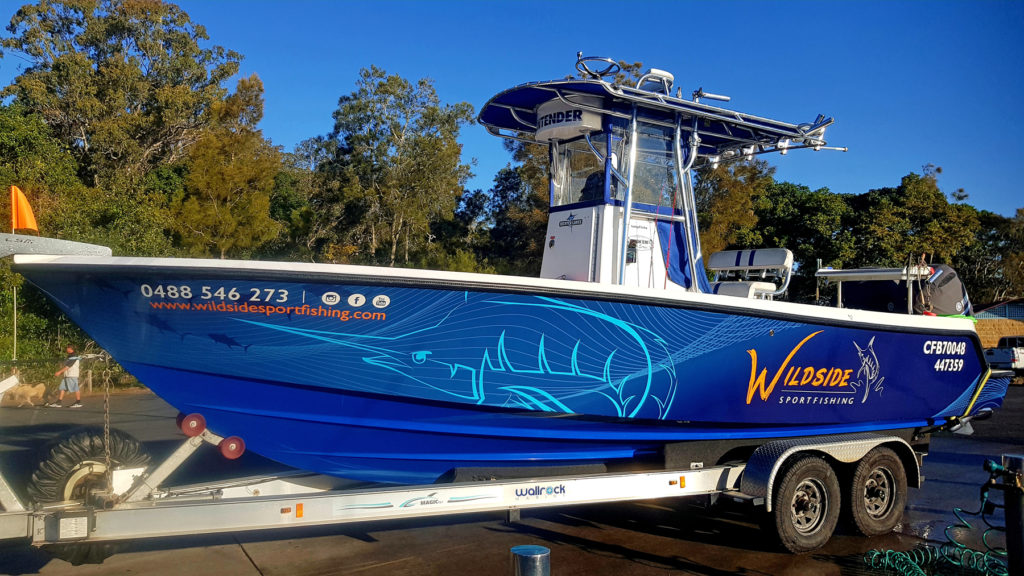 Wildside Sportfishing's Contender 25 Tournament is the perfect all round fishing vessel